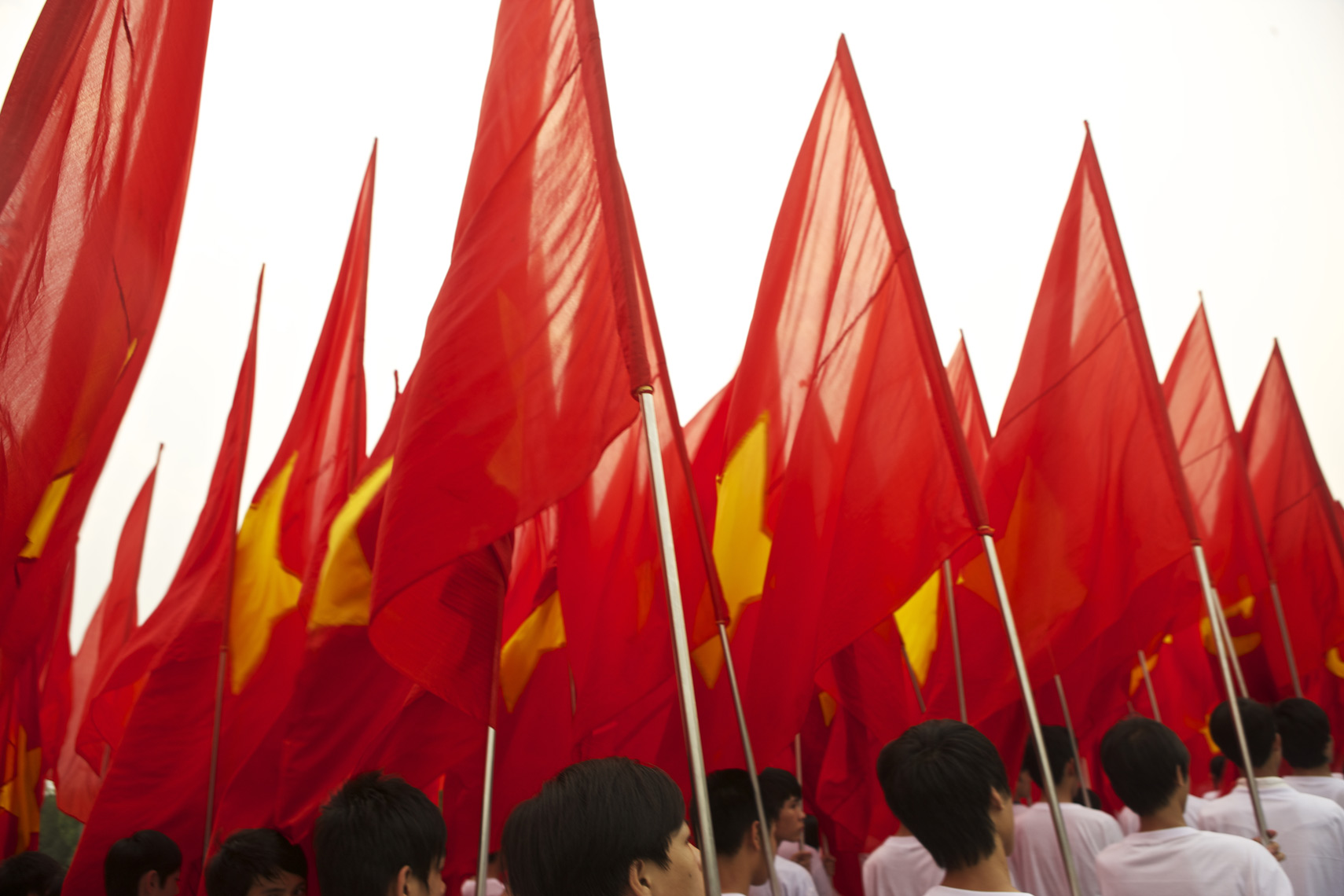 Vietnamese Flags Fly in Celebraton/Steve Mason Photography