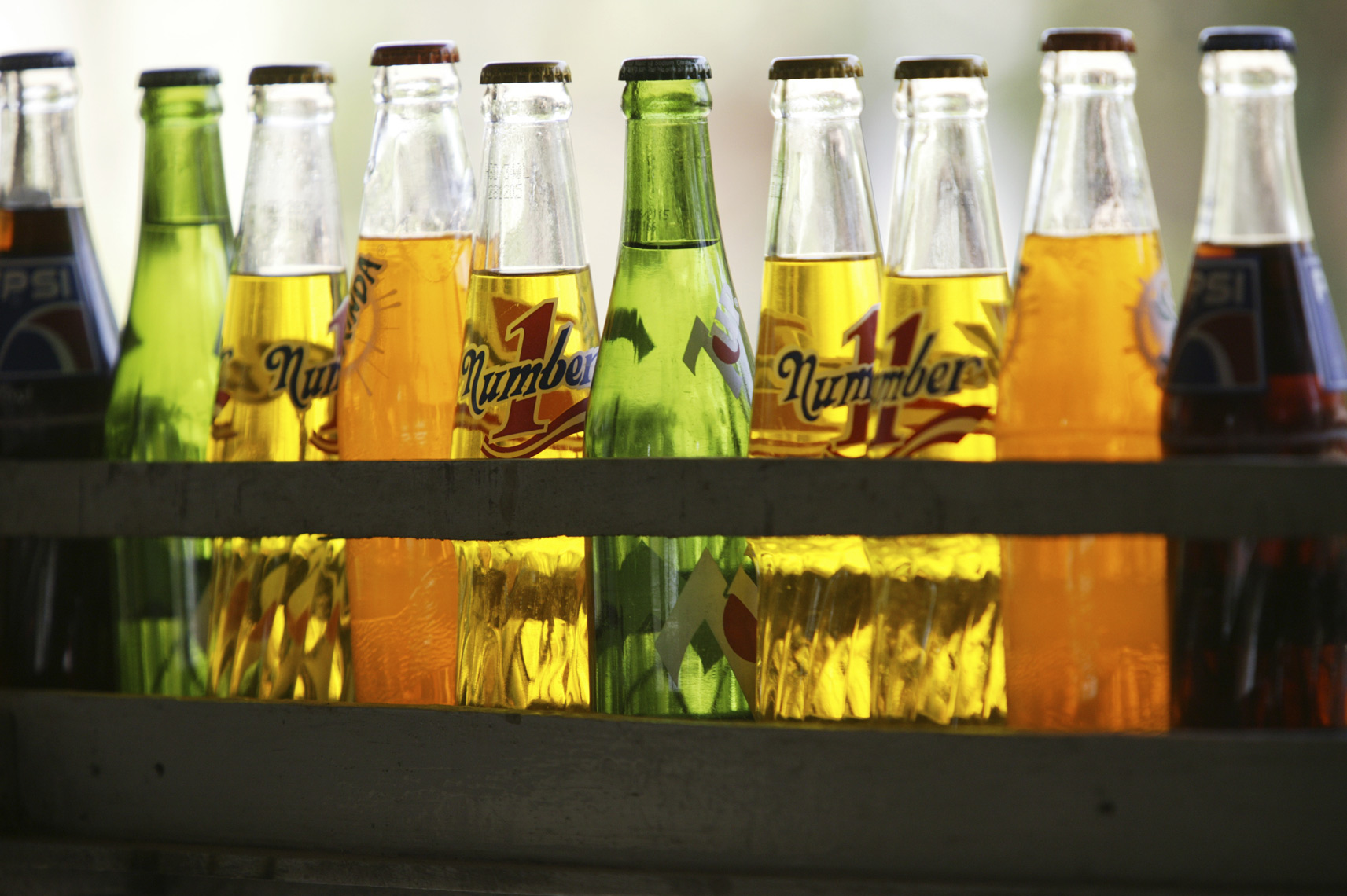 Softdrink botttle backlight/Steve Mason Photography