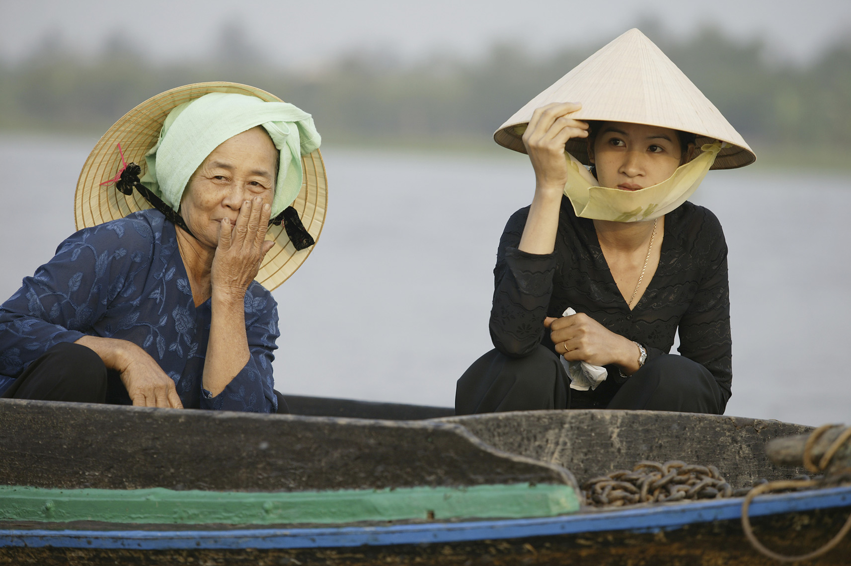 Mother and Daughter in Mekong Delta/Steve Mason Photography