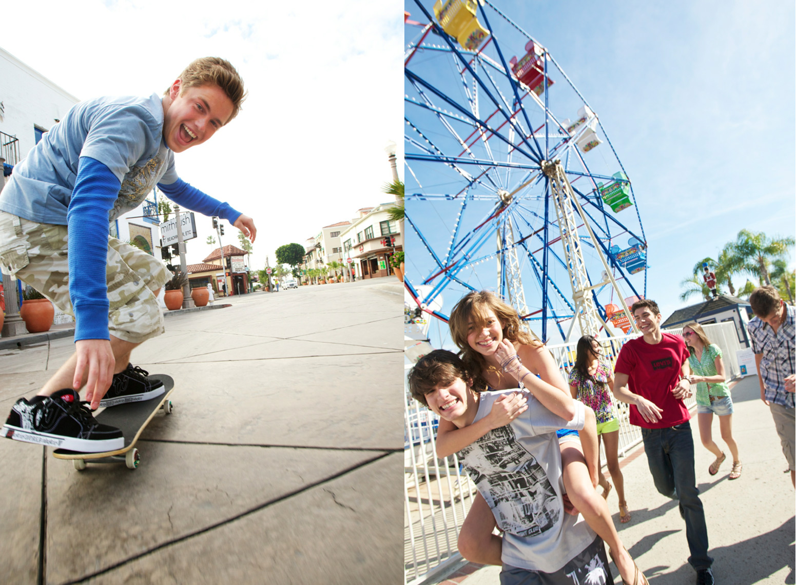 Tweens enjoy the boardwalk and arcade/Steve Mason Photography