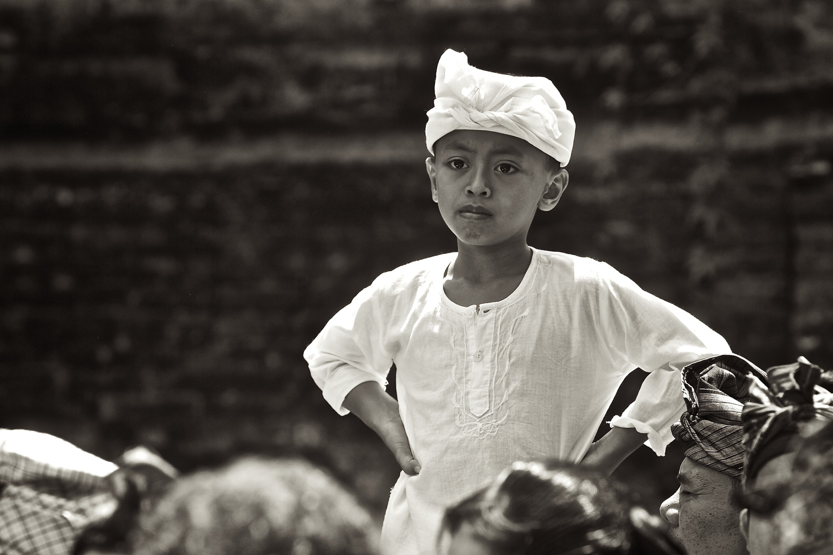 Local boy dressed for cerimony Ubud, Bali/Steve Mason Photography